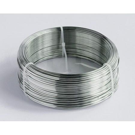 Drut aluminiowy 2mm 1 kg