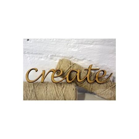create - napis