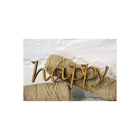 Happy - napis