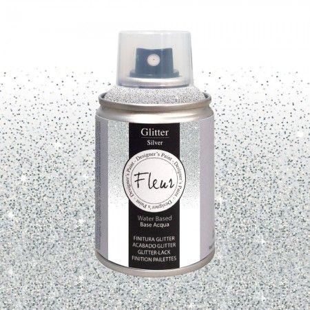 Farba Brokatowa Fleur Spray Silver 100ml