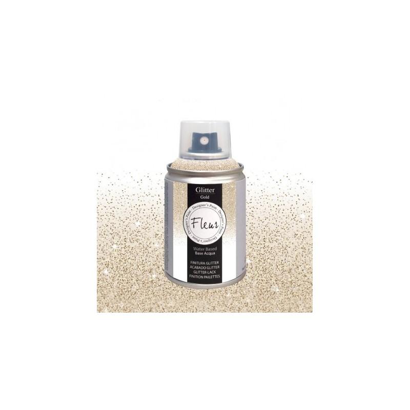 Farba Brokatowa Fleur Spray Gold 100 ml