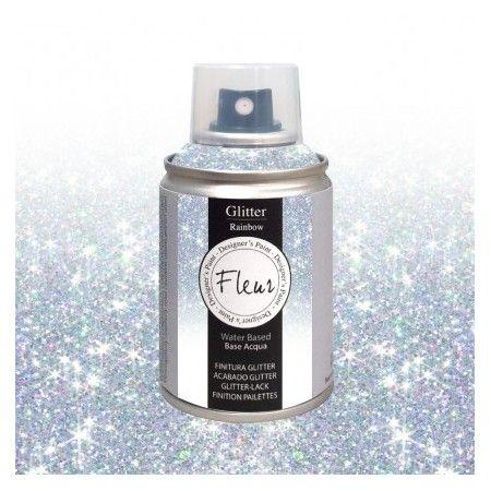 Farba Brokatowa Fleur Spray Rainbow100 ml