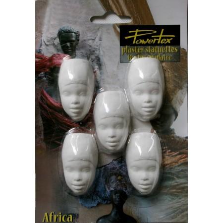 African Lady (5 połówek głów)