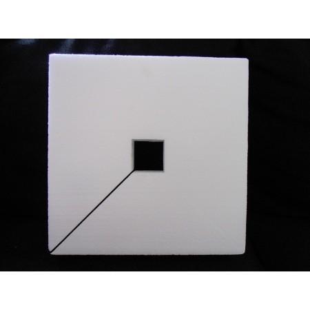 Kwadrat 32x32 cm z kwadratem wew. 5 cm