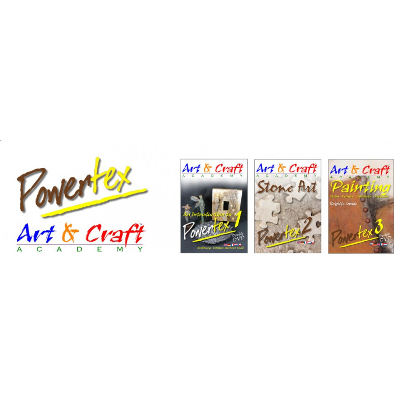 Pakiet 3 płyt DVD POWERTEX