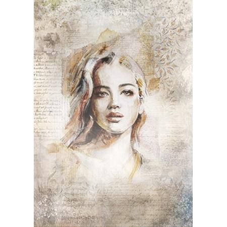 Papier jedwabny  - Portret 1