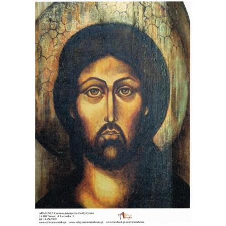 Papier ryżowy Arabeska – Ikona Jezusa, format A5